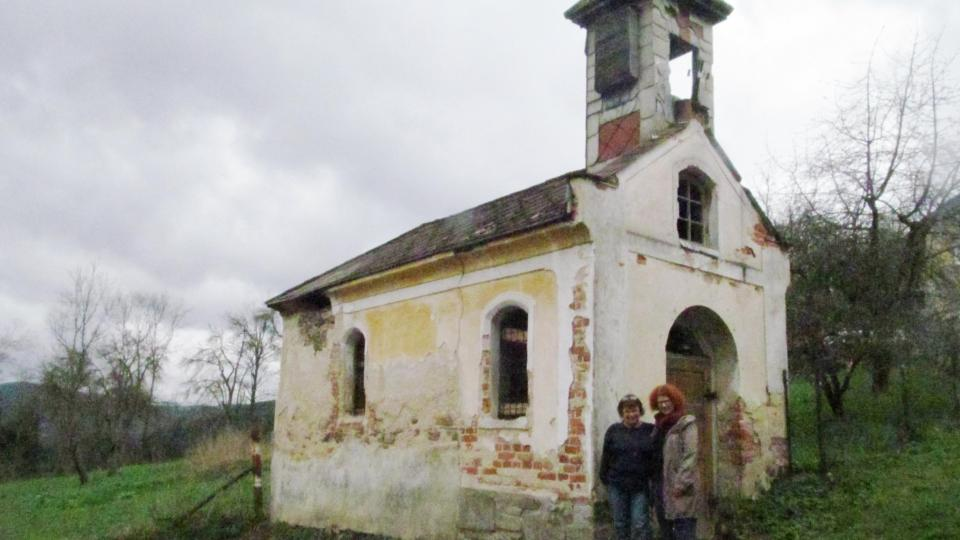 Kaplička i s částí svých zachránců Vladimírou Fridrichovou Kunešovou a Věrou Vávra