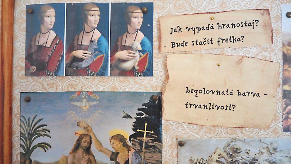 Leonardo da Vinci na zámu ve Žďáru nad Sázavou