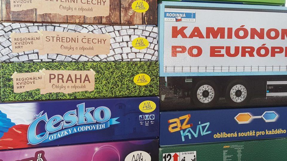 Nejedna rodina má doma malou sbírku současných deskových her Foto Jolana Nováková