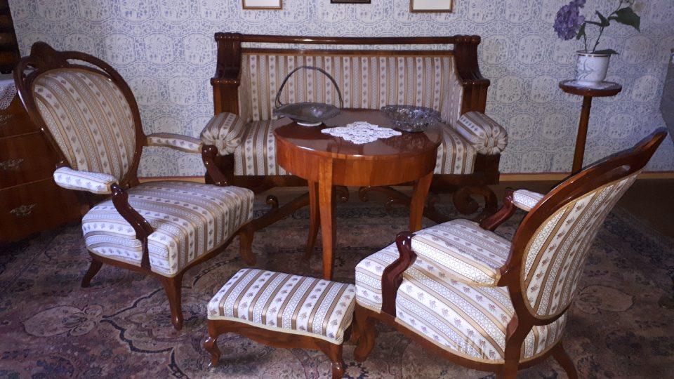 Obývací pokoj u Smetanových