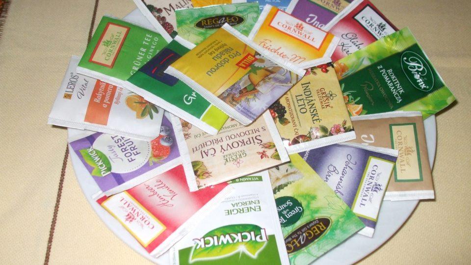 Sbírka čajových sáčků