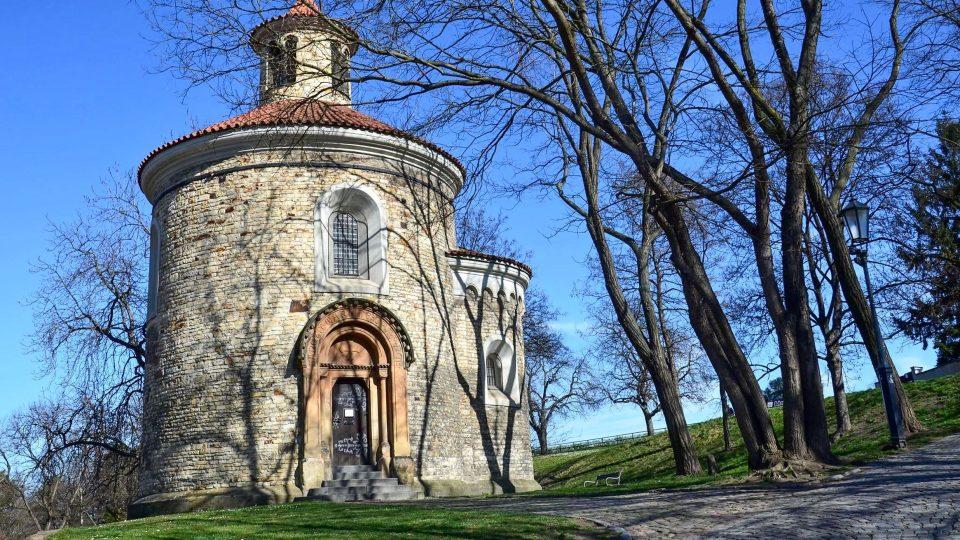 Nejstarší pražskou rotundou je rotunda svatého Martina na Vyšehradě