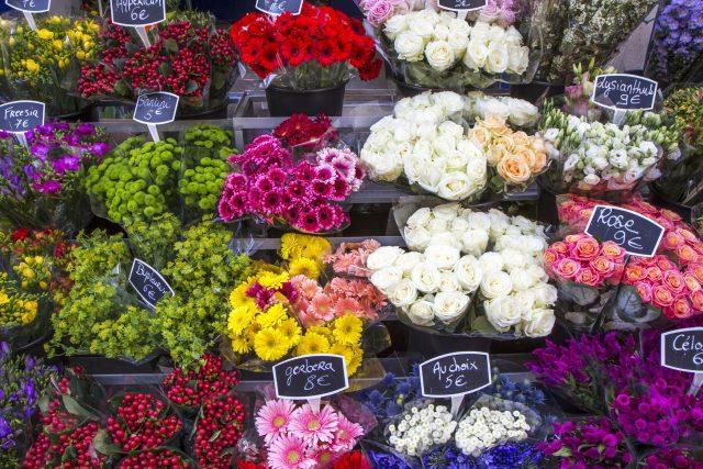 Prodej řezaných květin | foto: Profimedia