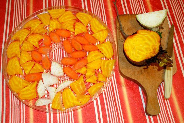 Mrkev, celer a žlutá řepa