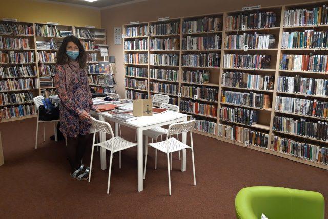 Lucie Hašková přivedla do knihovny v Hradištku několik stovek nových čtenářů